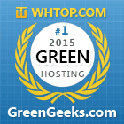 BEST Green Web Hosting 2015