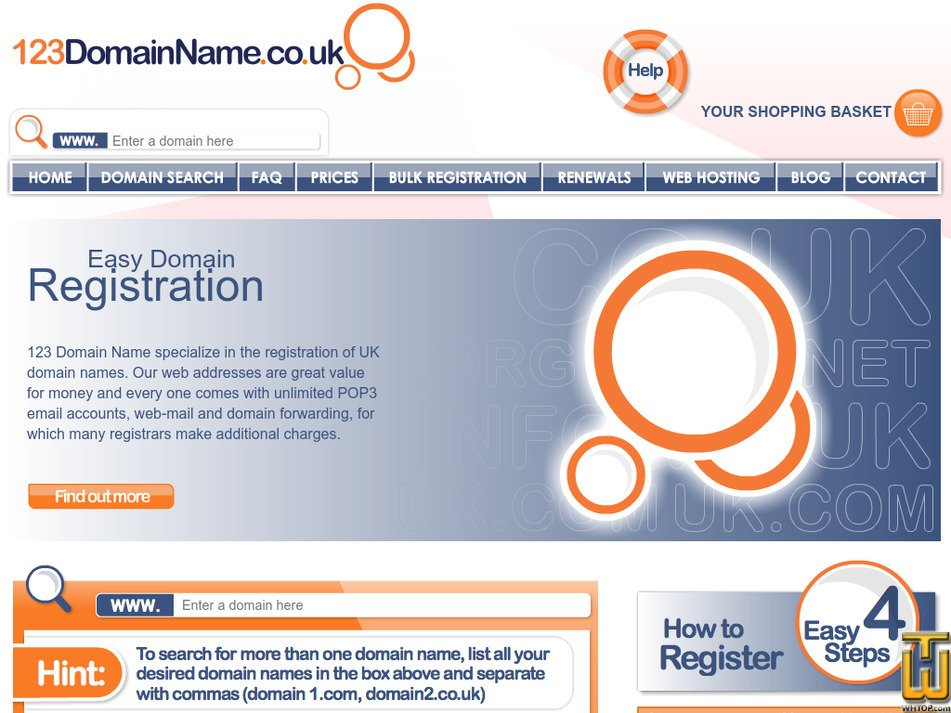 123domainname.co.uk Screenshot