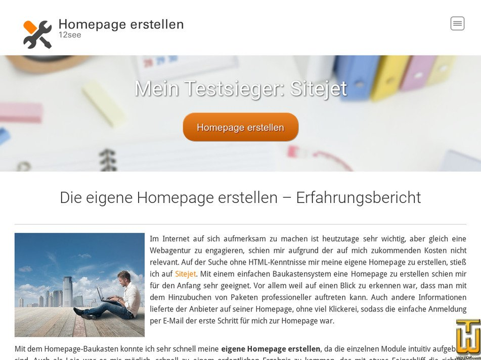 12see.de Screenshot