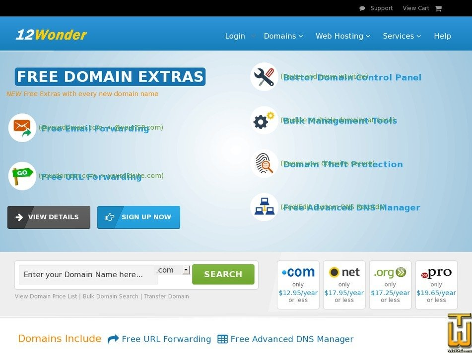 12wonder.com Screenshot