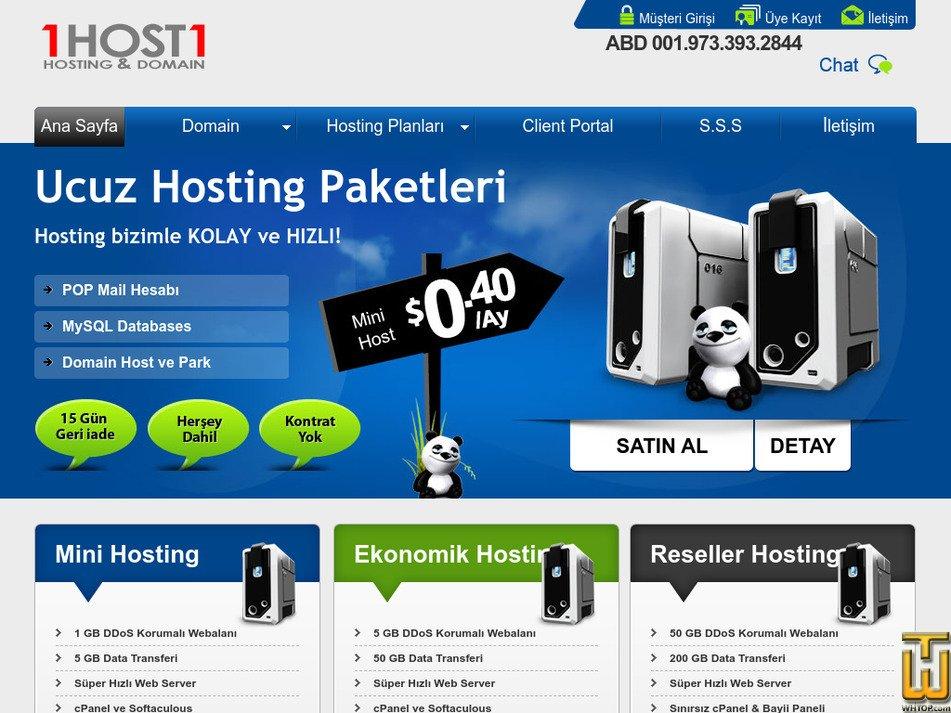 1host1.com Screenshot
