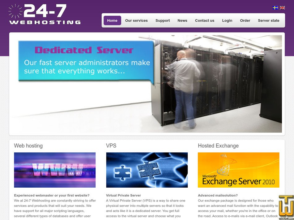 24-7webhosting.com Screenshot