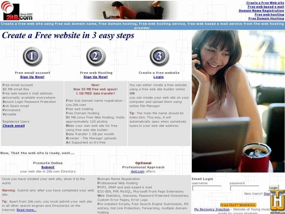 2itb.com Screenshot