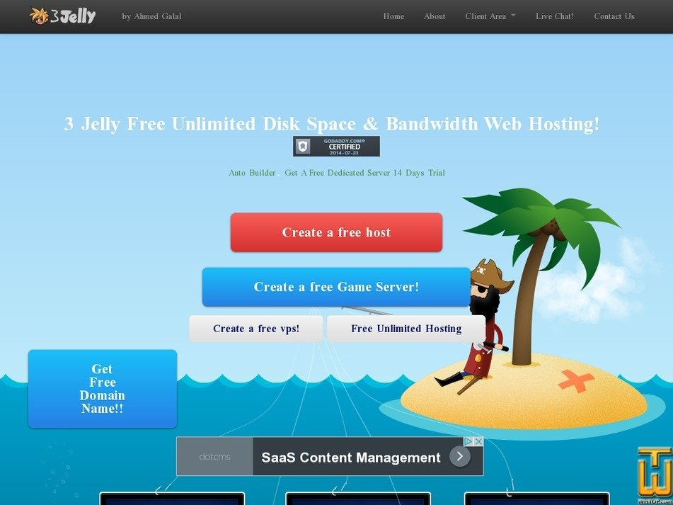 3jelly.com Screenshot
