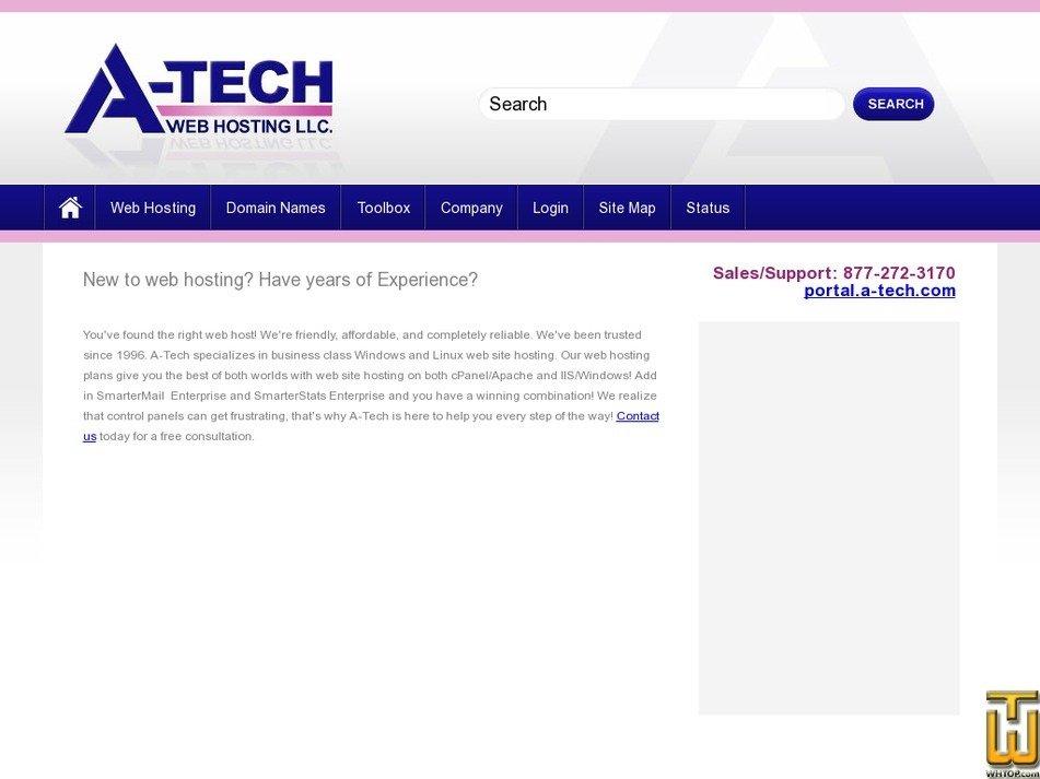 a-tech.com Screenshot