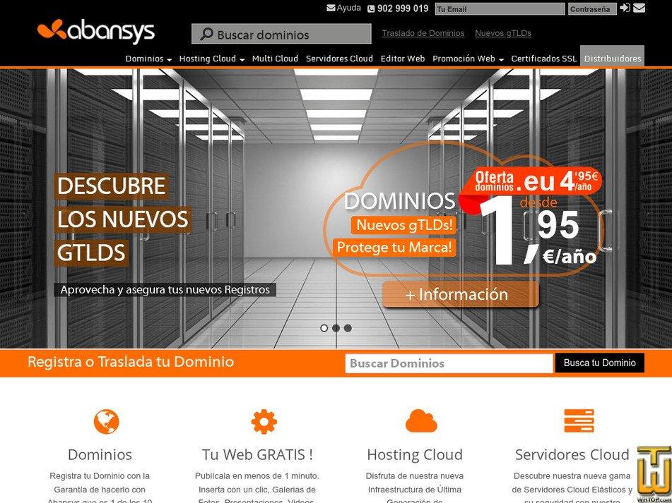 abansys.com Screenshot