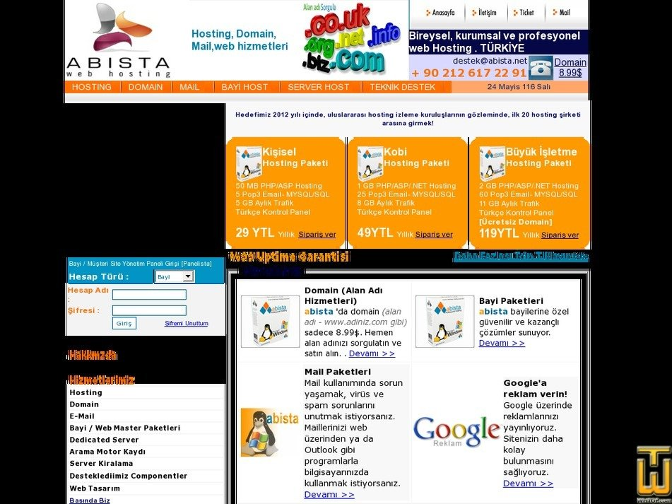 abista.net Screenshot