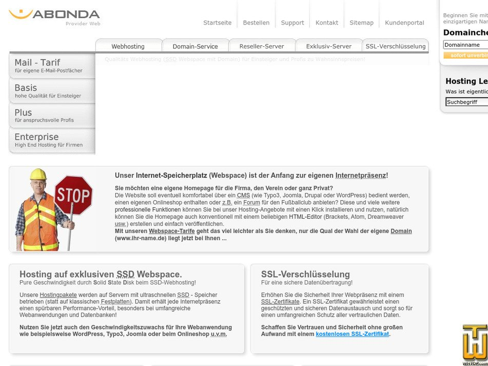 abonda.de Screenshot