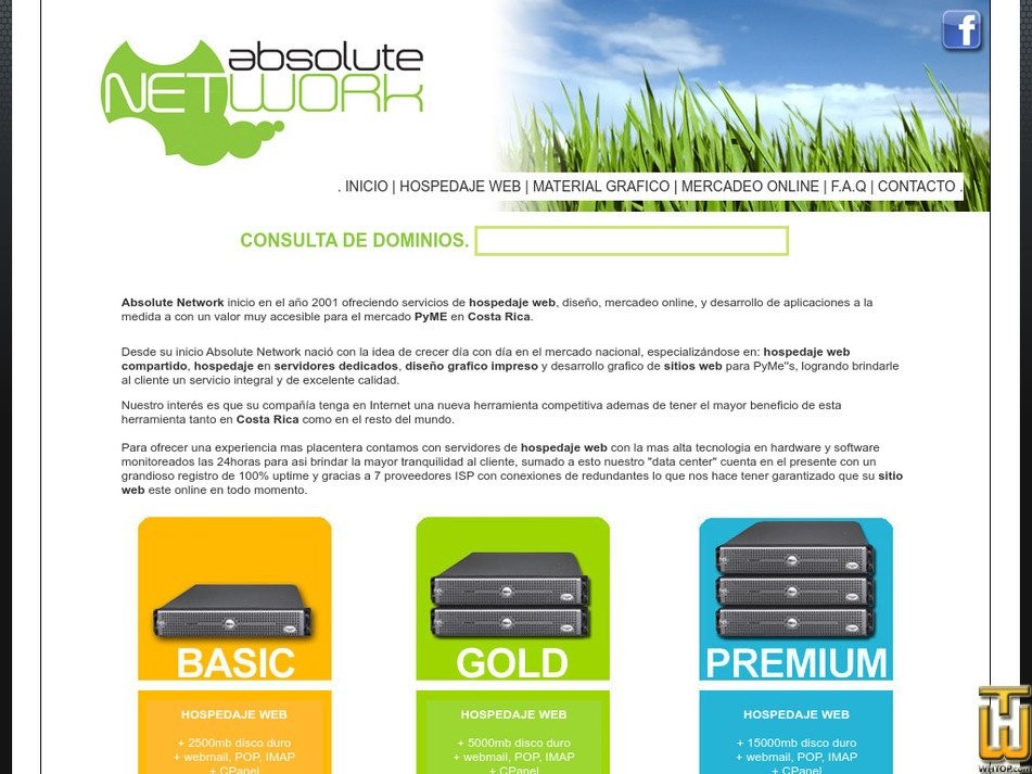 absolutenetwork.net Screenshot