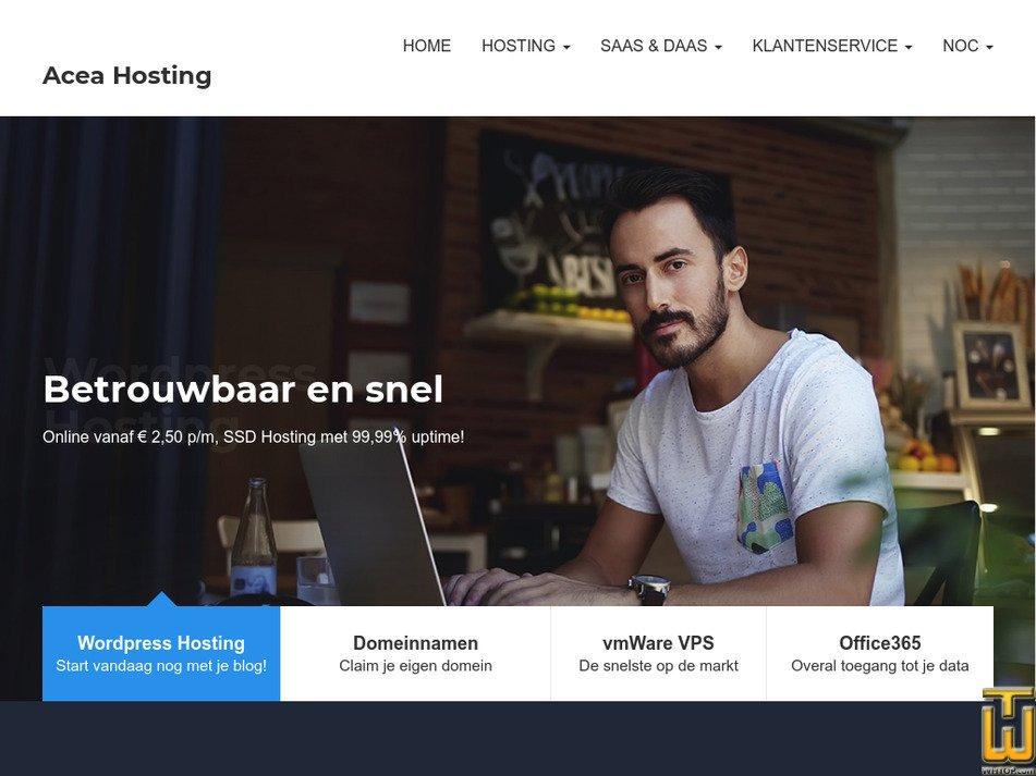 aceahosting.nl Screenshot