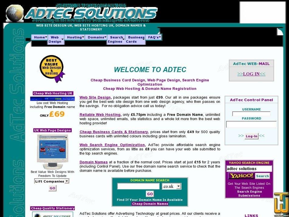 adtecsolutions.co.uk Screenshot