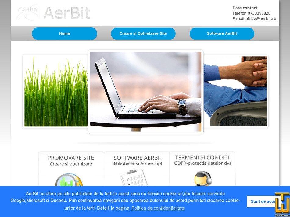 aerbit.ro Screenshot