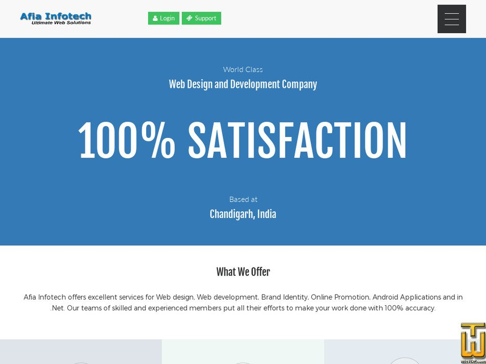 afiainfotech.com Screenshot