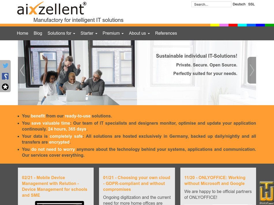 aixzellent.com Screenshot