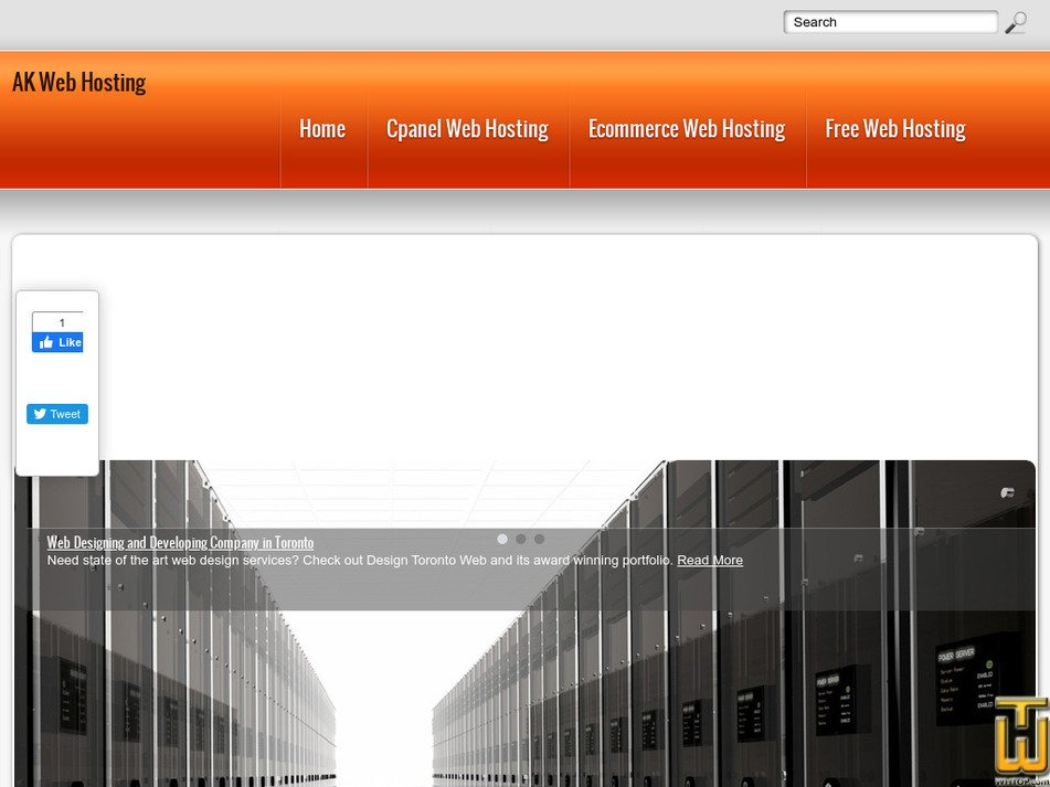 akwebhosting.net Screenshot
