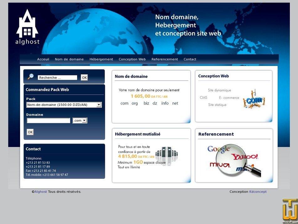 alghost.com Screenshot
