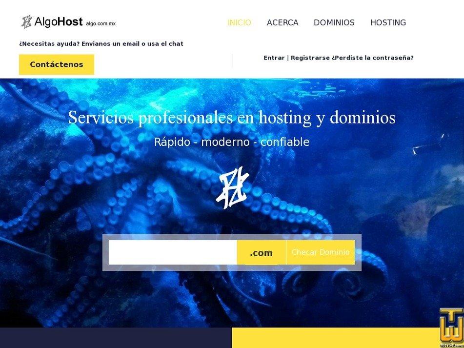 algo.com.mx Screenshot