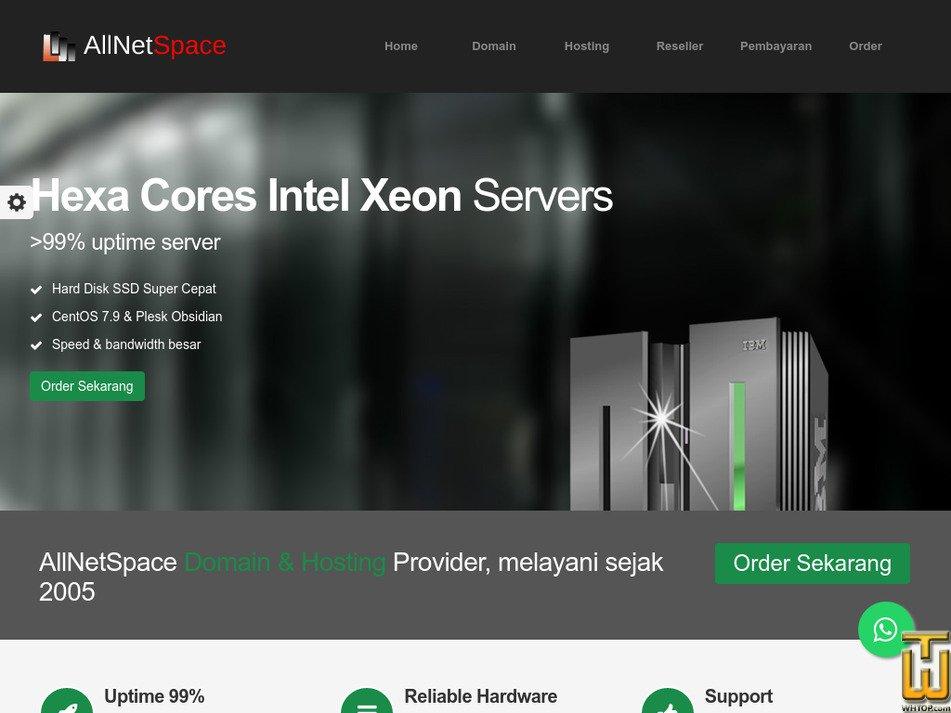 allnetspace.com Screenshot