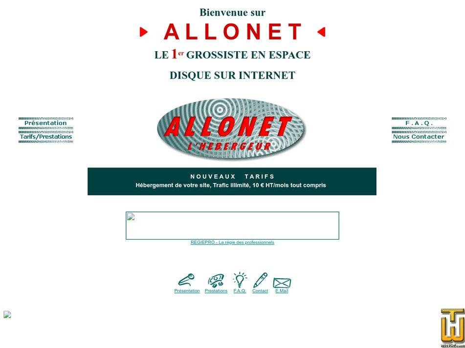 allonet.com Screenshot