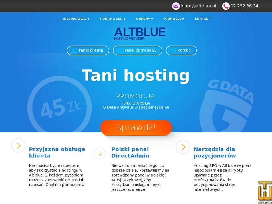 altblue.pl Screenshot