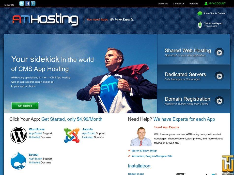 amhosting.com Screenshot