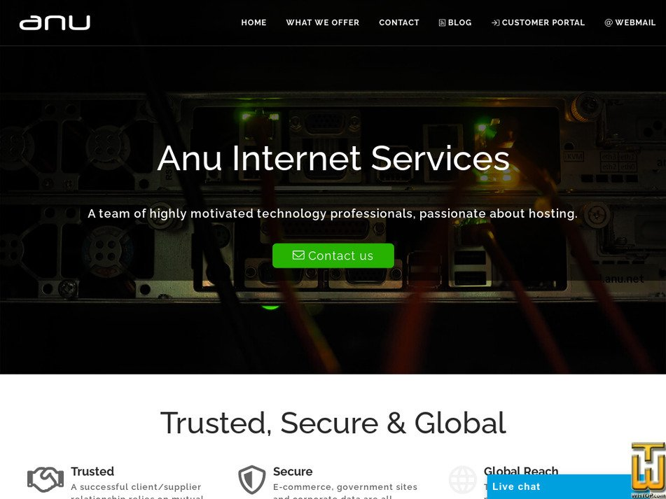 anu.net Screenshot