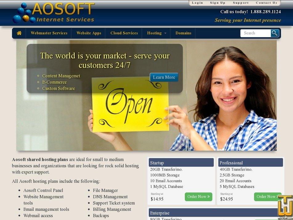 aosoft.net Screenshot