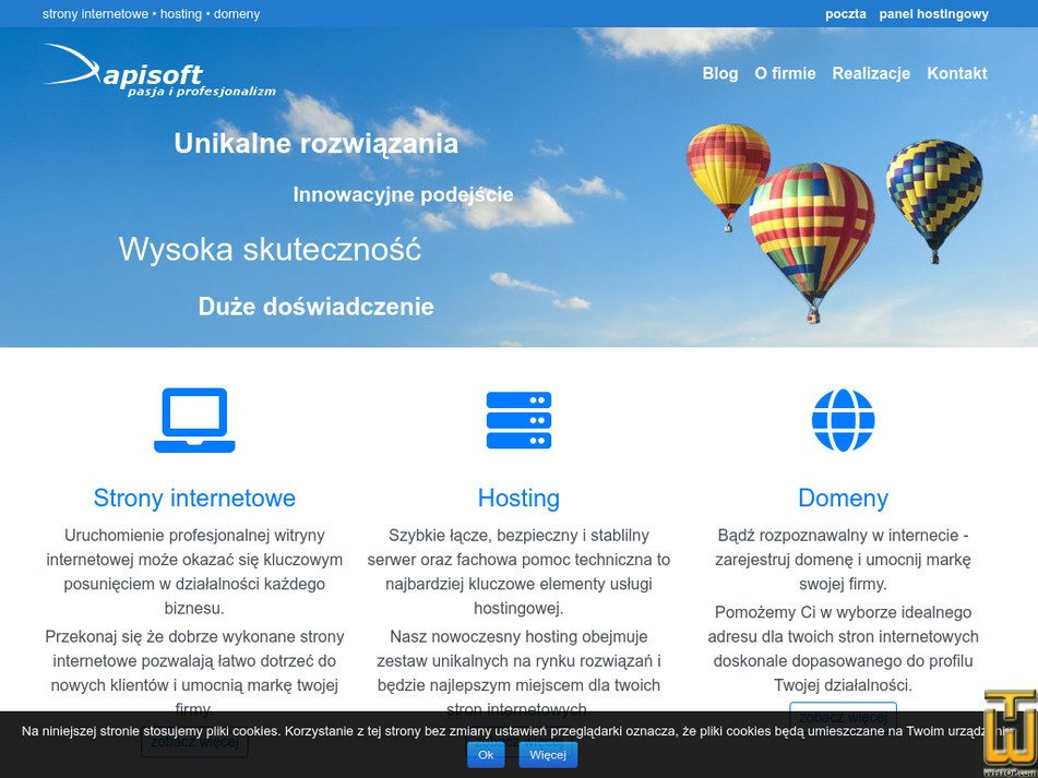 apisoft.pl Screenshot