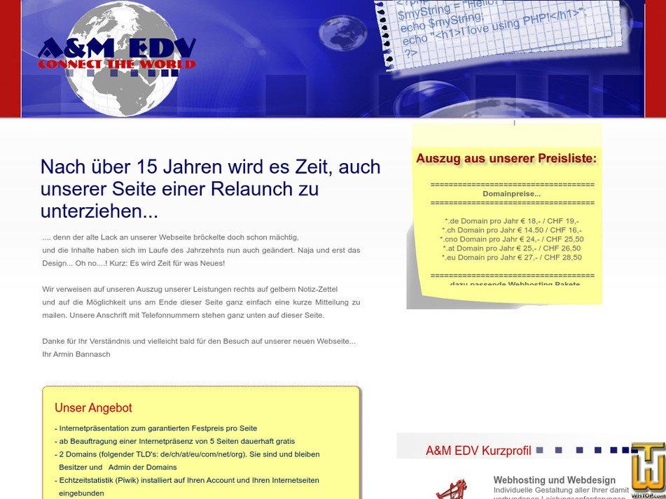 aplusm.ch Screenshot