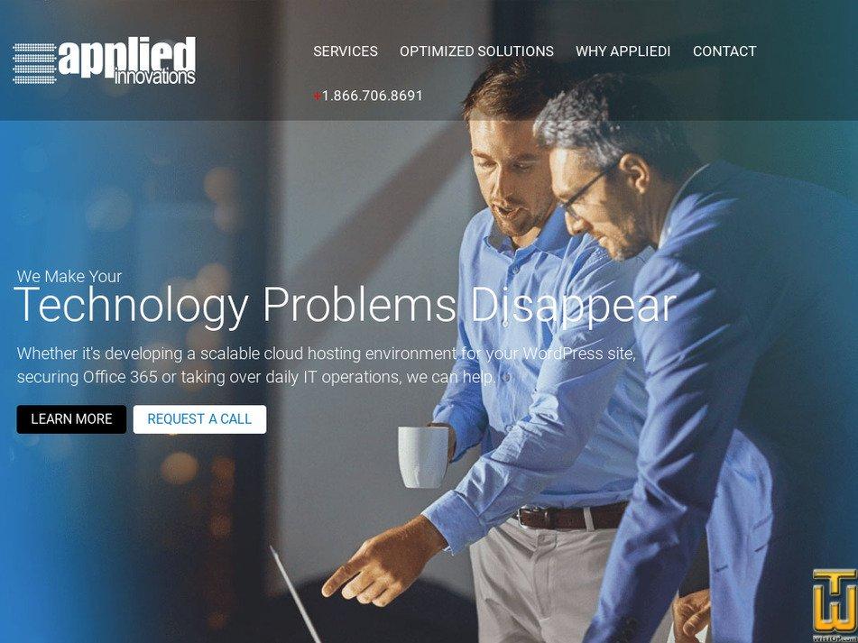 appliedi.net Screenshot
