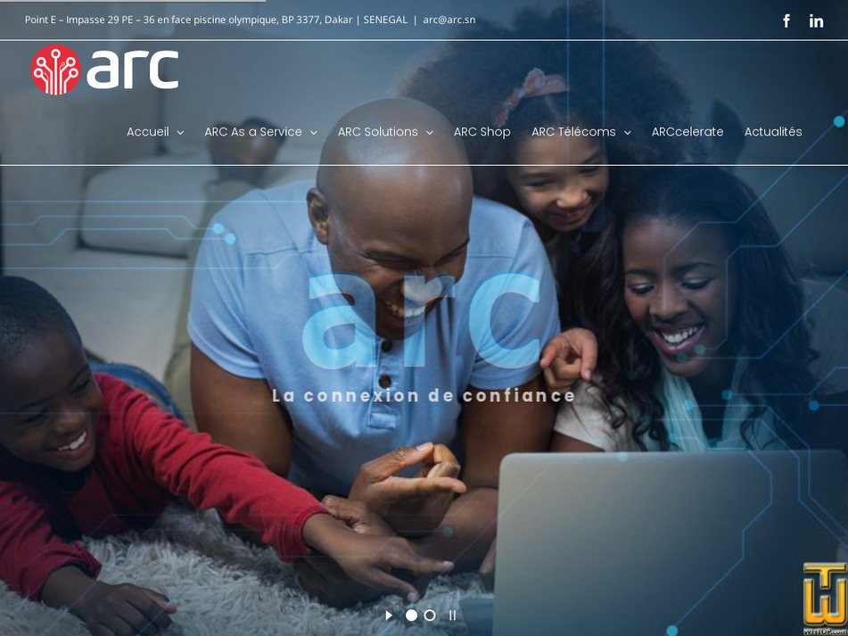 arc.sn Screenshot