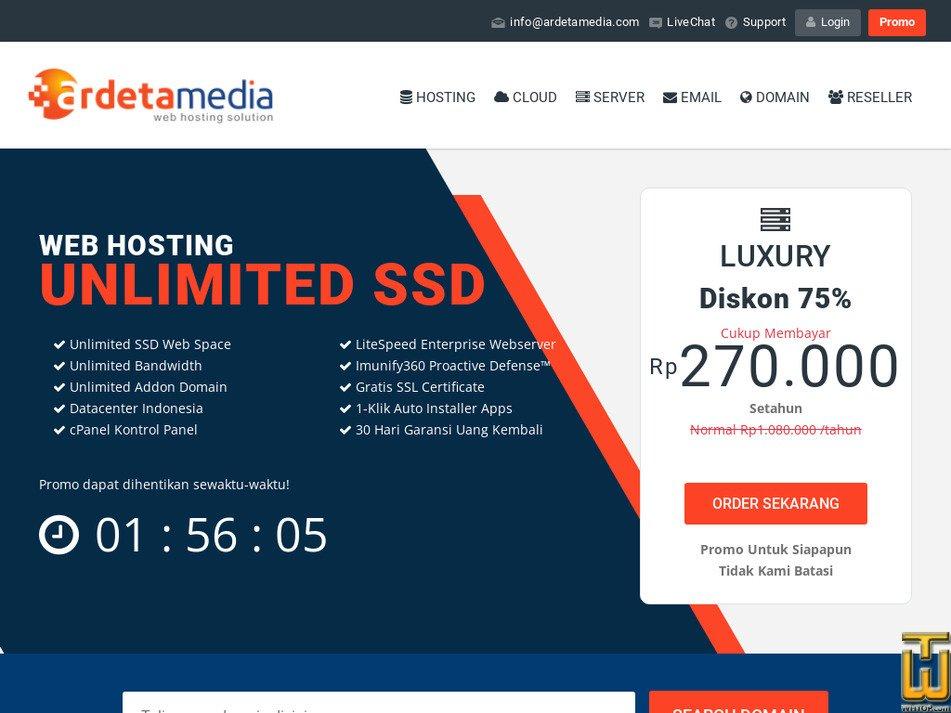 ardetamedia.com Screenshot