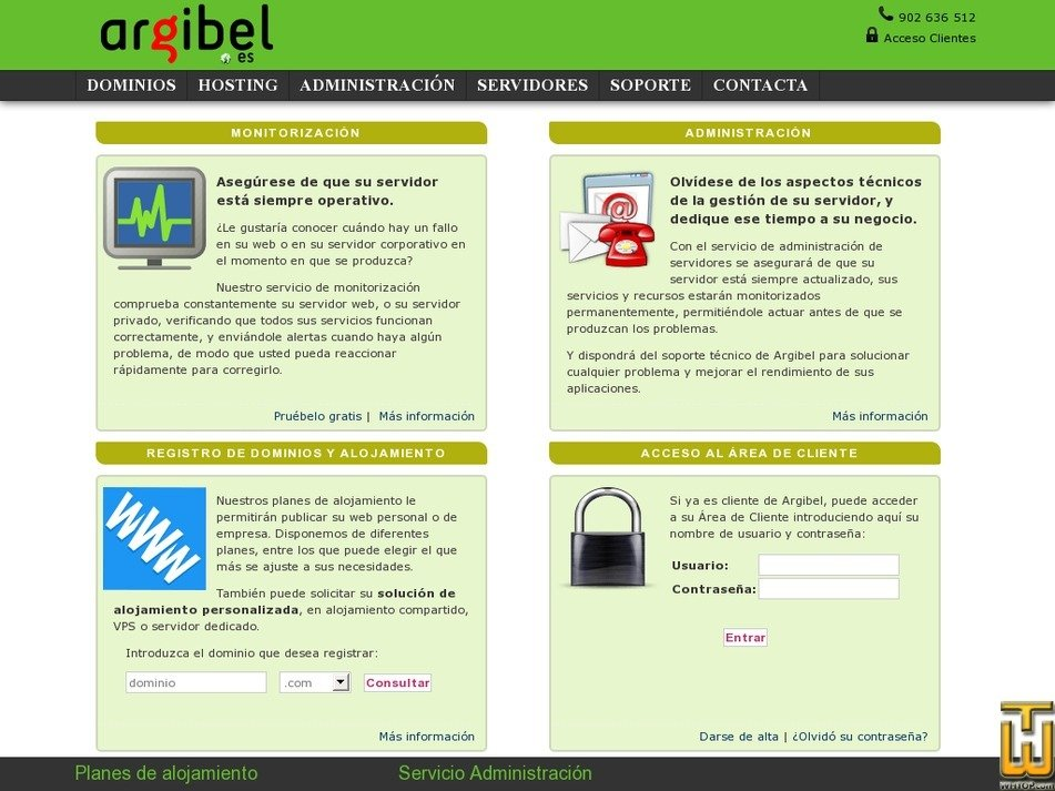 argibel.es Screenshot