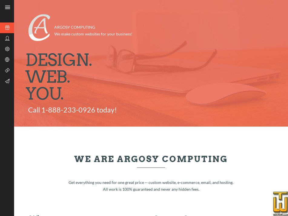 argosycomputing.com Screenshot