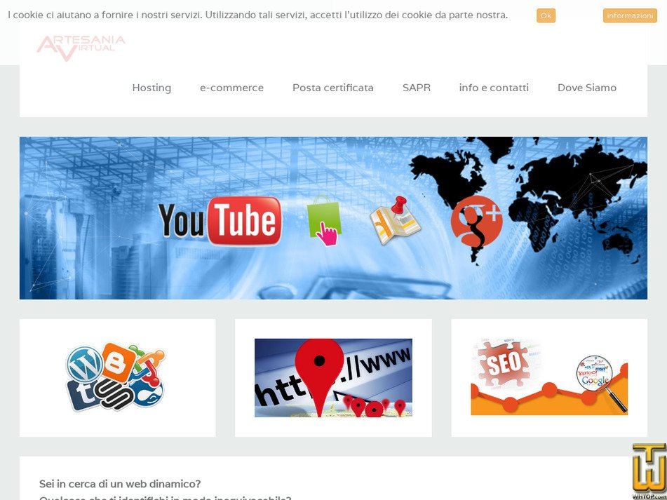 artesaniavirtual.it Screenshot