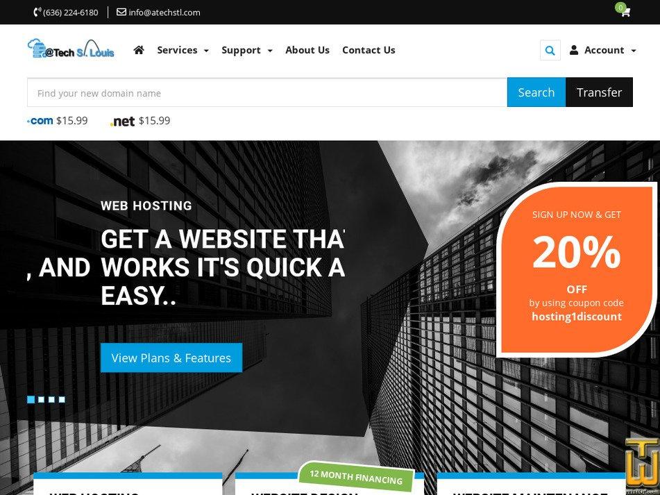 atechstl.com Screenshot