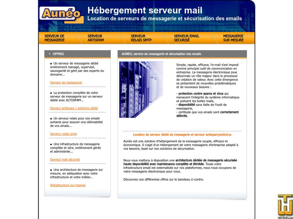 auneo.com Screenshot