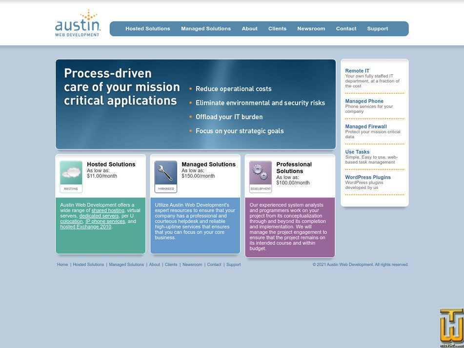 austindev.com Screenshot