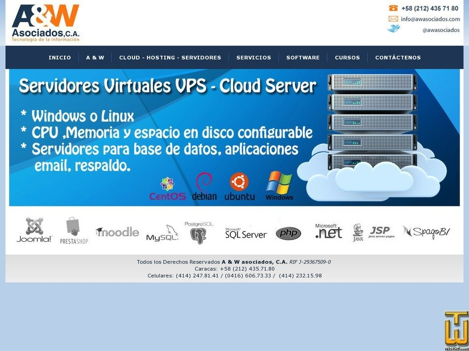 awasociados.com Screenshot