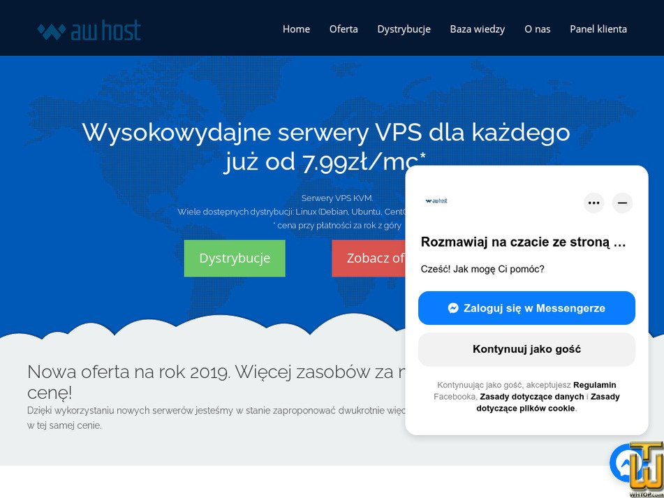 awhost.pl Screenshot