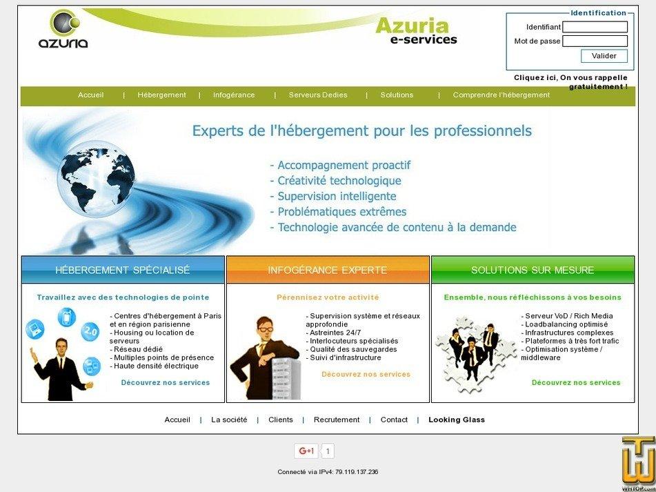 azuria.com Screenshot