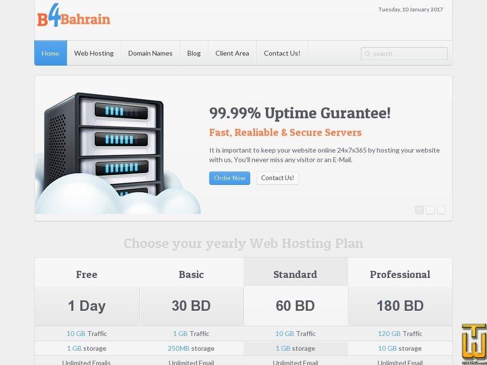 b4bahrain.com Screenshot
