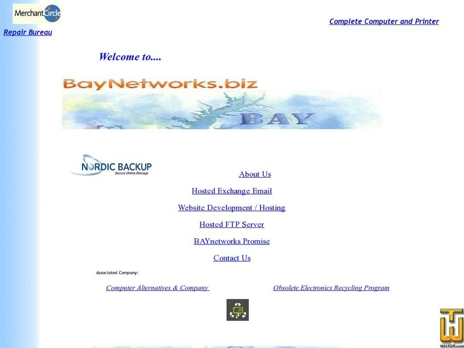 baynetworks.biz Screenshot