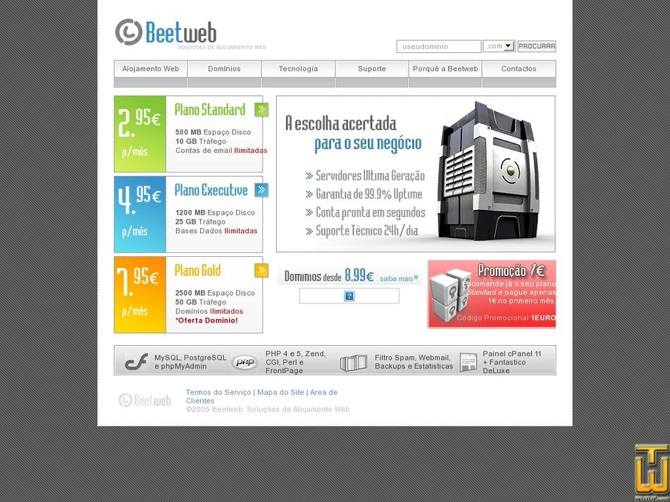 beetweb.com Screenshot