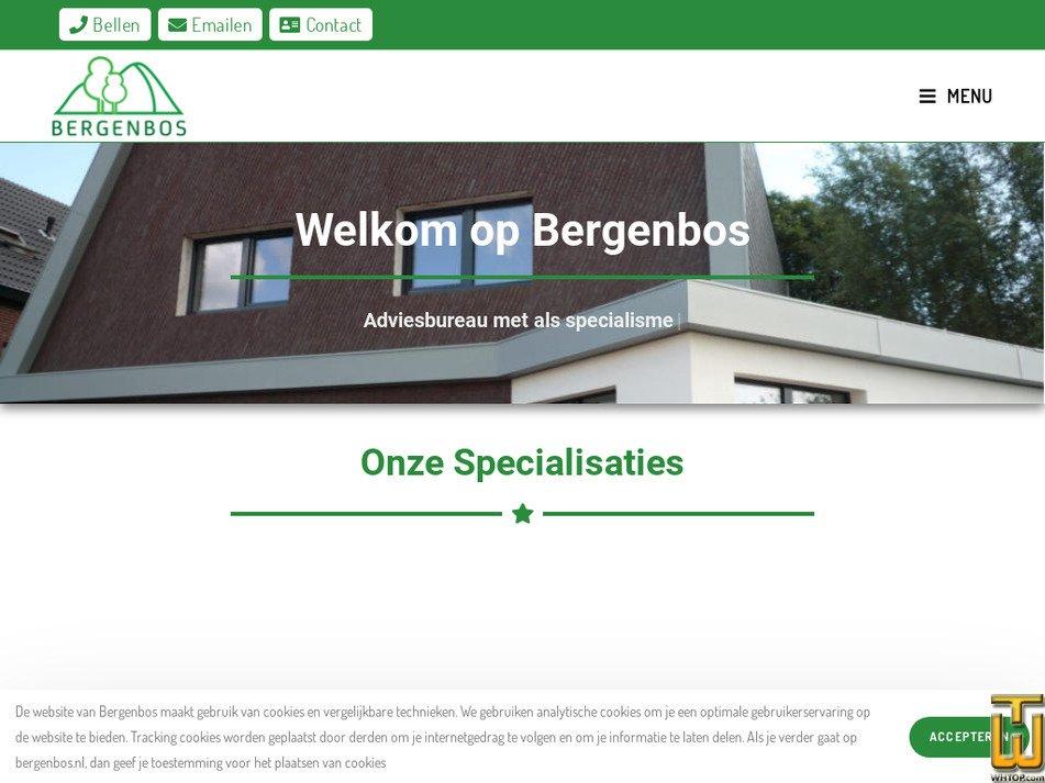 bergenbos.nl Screenshot