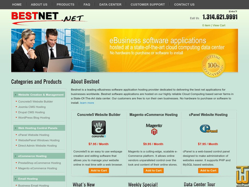 bestnet.net Screenshot