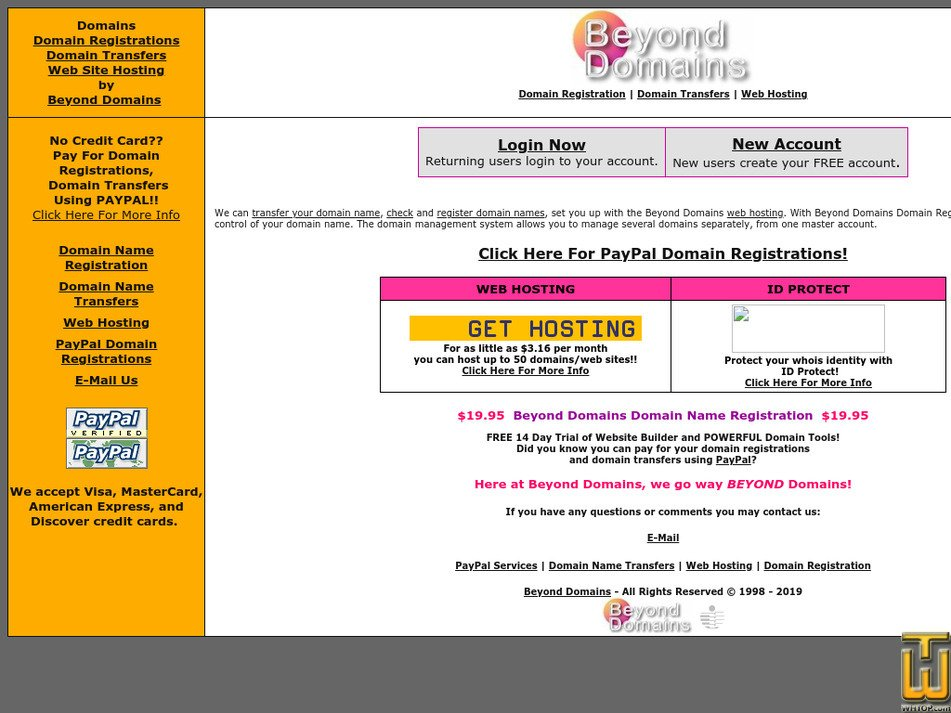 beyonddomains.com Screenshot