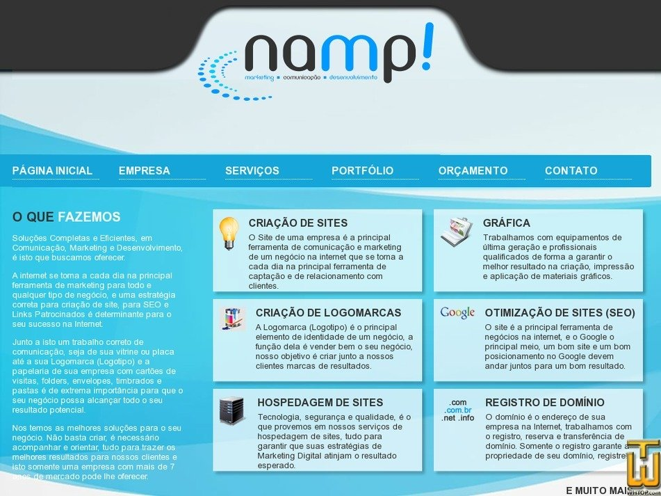 bhinternet.com.br Screenshot