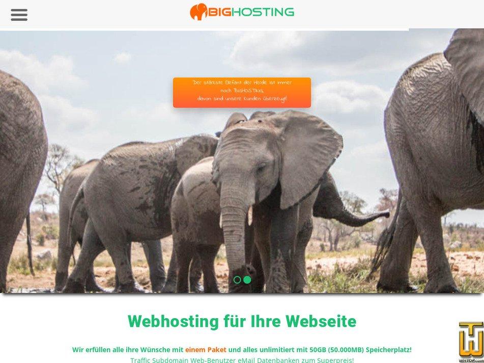 bighosting.biz Screenshot