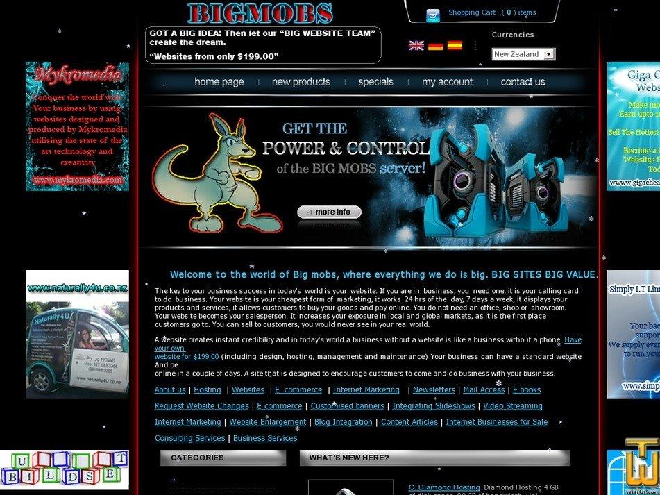 bigmobs.com Screenshot
